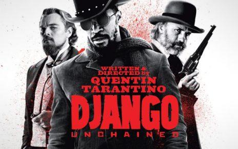 Jamie Foxx, Leonardo DiCaprio, Christoph Waltz, Samuel L. Jackson Django western