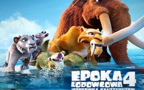 Bajka animacja Epoka Lodowcowa 4 Webtv VOD Bajki online w sieci