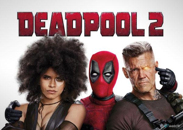 Dedpool2 film kino vod w sieci Ryan Reynolds, Morena Baccarin, Josh Brolin, Zazie Beetz, T.J. Miller