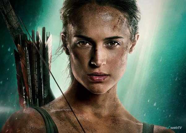 Tomb Raider 2018 Lara Croft Alicia Vikander webtv trailer film