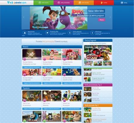strefa bajek dla dzieci online VOD VOD.pl